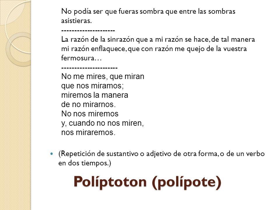 Políptoton (polípote)