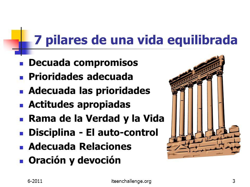 7 pilares de una vida equilibrada