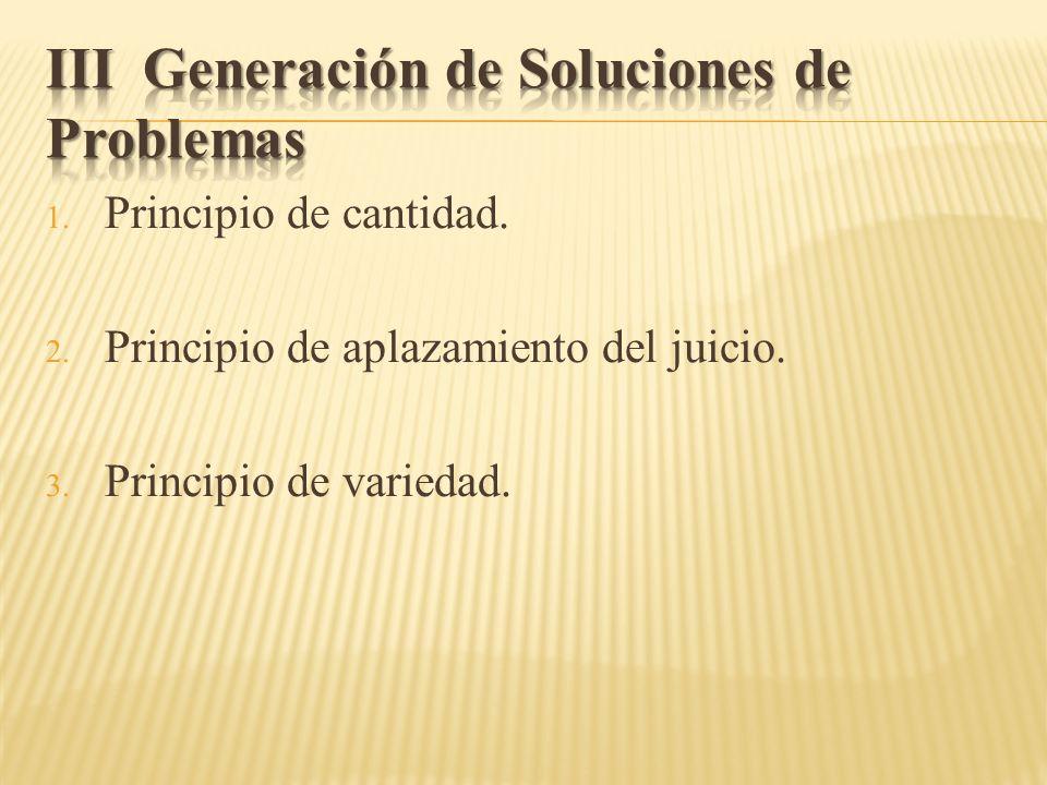 III Generación de Soluciones de Problemas