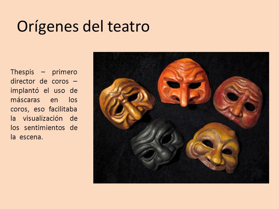 Orígenes del teatro