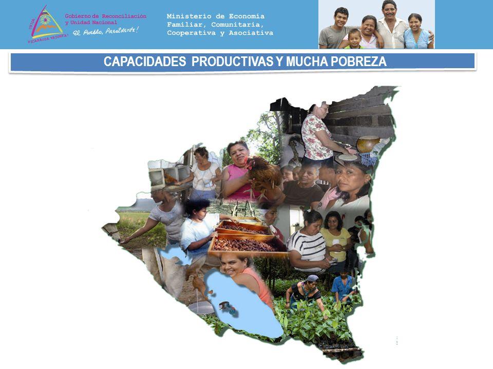 CAPACIDADES PRODUCTIVAS Y MUCHA POBREZA
