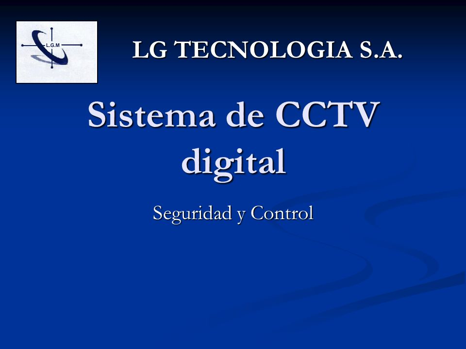 Sistema de CCTV digital