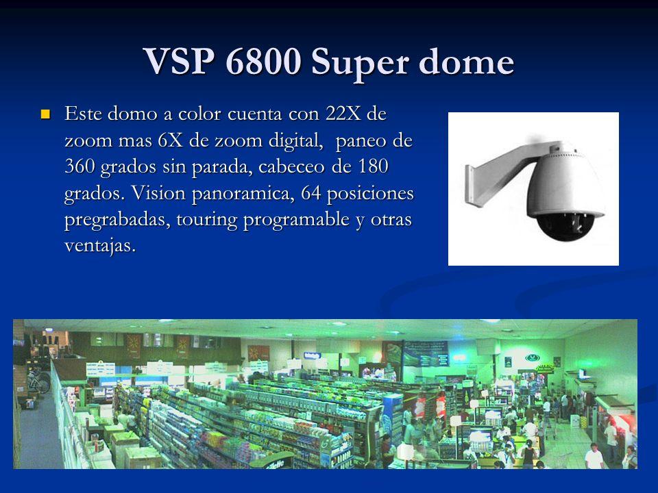 VSP 6800 Super dome