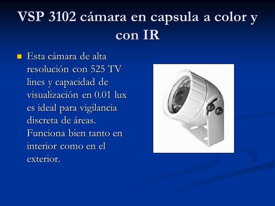 VSP 3102 cámara en capsula a color y con IR
