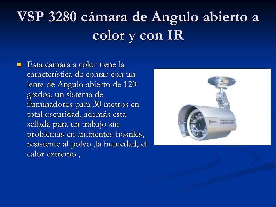 VSP 3280 cámara de Angulo abierto a color y con IR