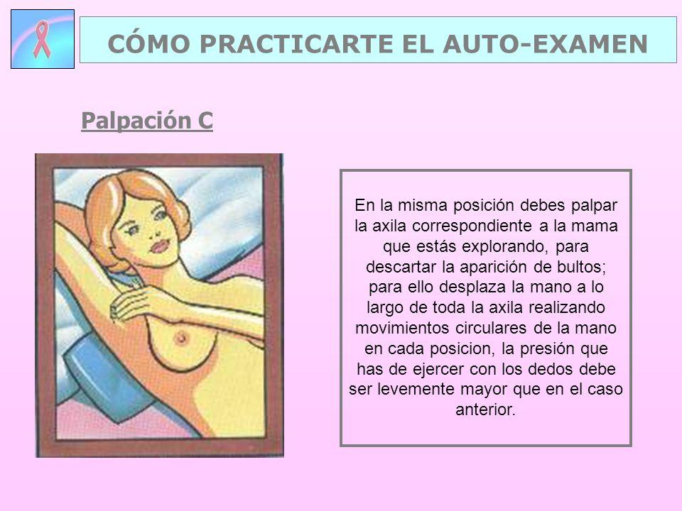 CÓMO PRACTICARTE EL AUTO-EXAMEN