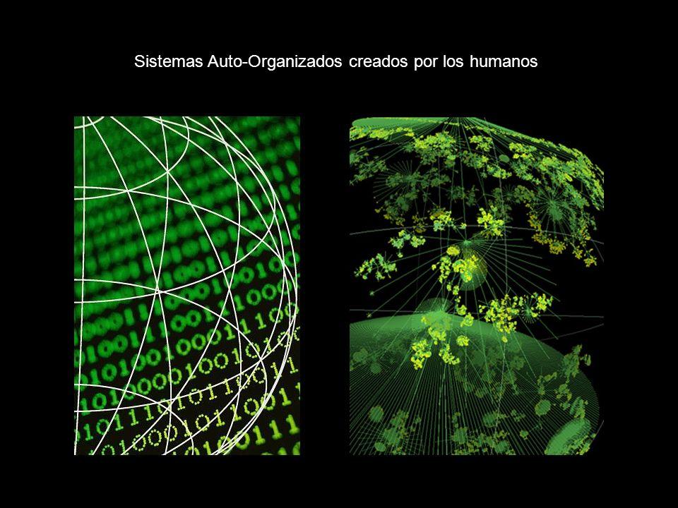 Sistemas Auto-Organizados creados por los humanos