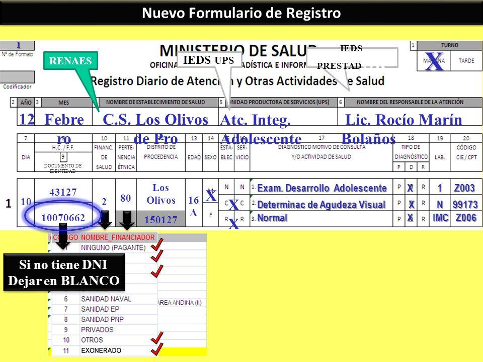 Nuevo Formulario de Registro