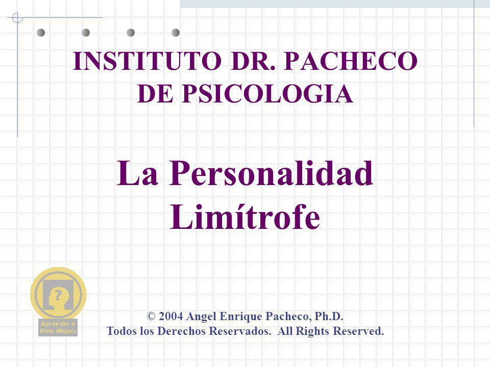 INSTITUTO DR. PACHECO DE PSICOLOGIA
