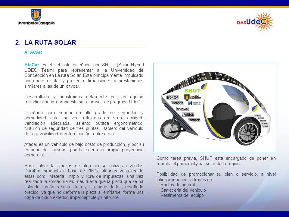 2. LA RUTA SOLAR ATACAR.