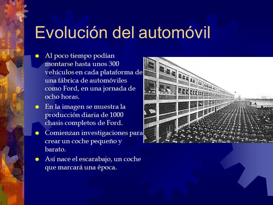 Evolución del automóvil