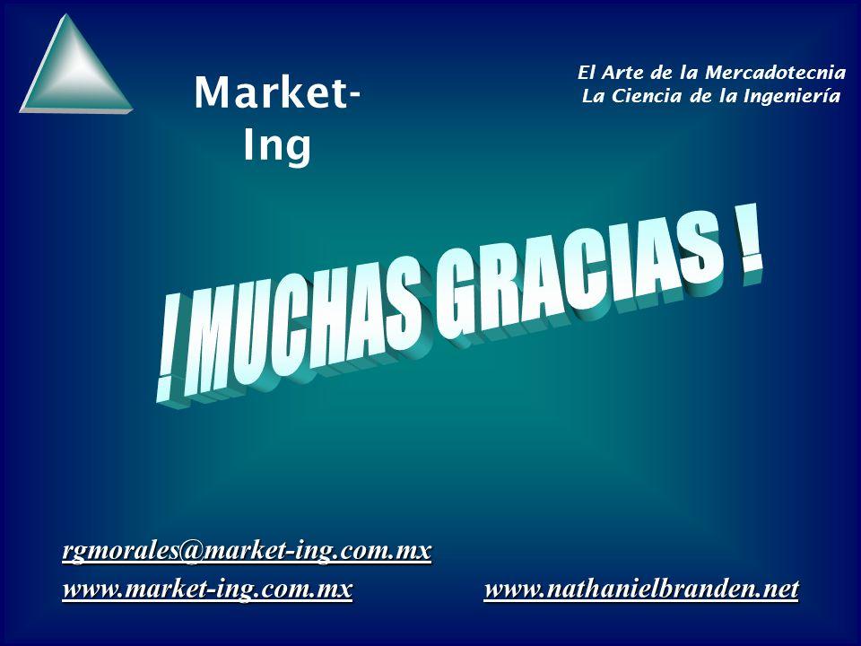! MUCHAS GRACIAS ! rgmorales@market-ing.com.mx www.market-ing.com.mx
