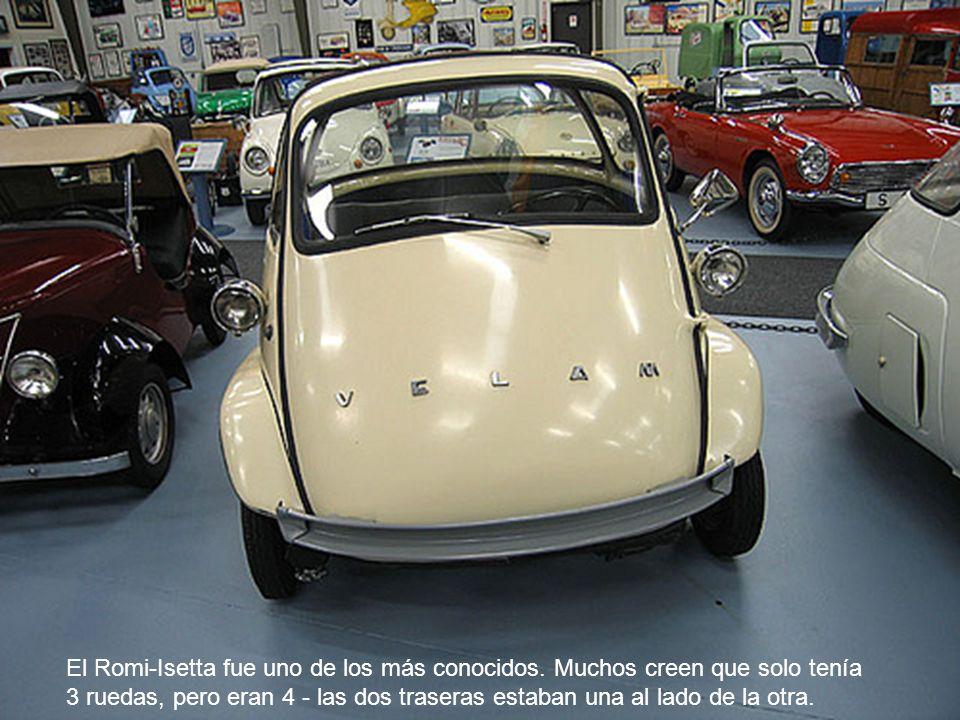 El Romi-Isetta fue uno de los más conocidos