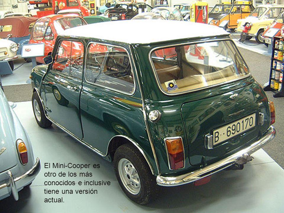 El Mini-Cooper es otro de los más conocidos e inclusive tiene una versión actual.