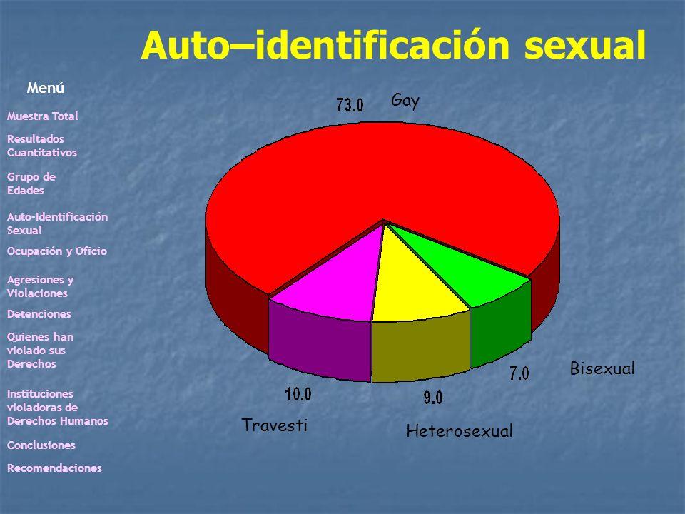 Auto–identificación sexual