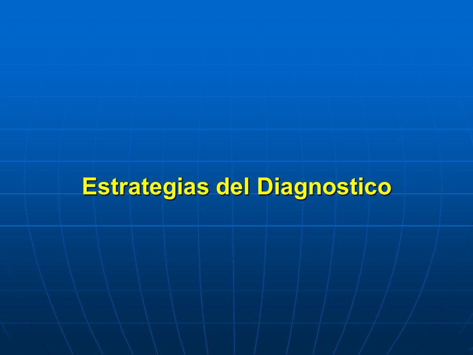 Estrategias del Diagnostico