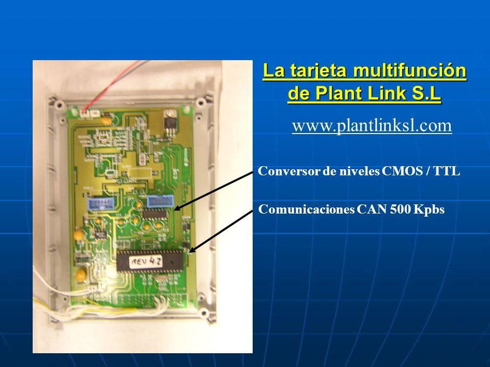 La tarjeta multifunción de Plant Link S.L