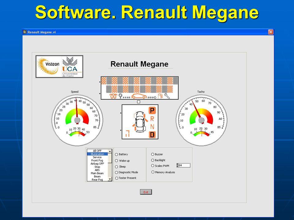 Software. Renault Megane