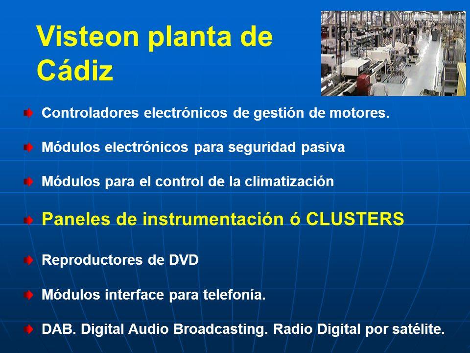 Visteon planta de Cádiz