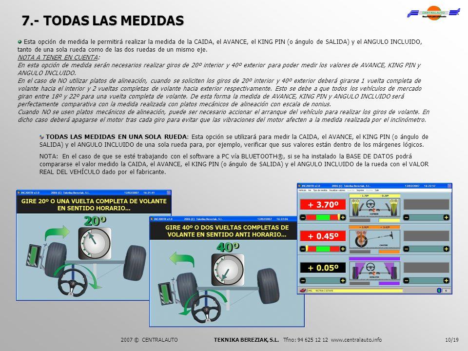 7.- TODAS LAS MEDIDAS