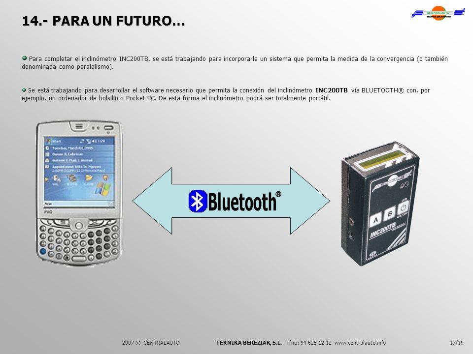 14.- PARA UN FUTURO…