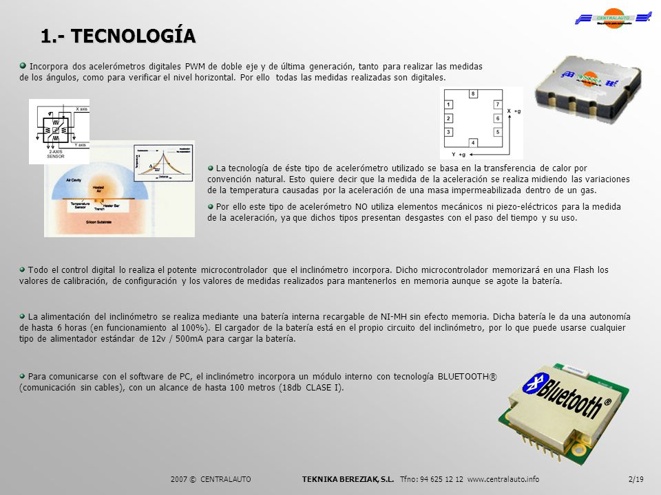 1.- TECNOLOGÍA