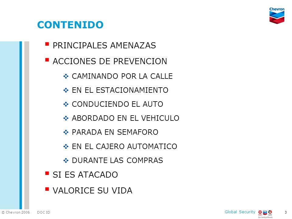 CONTENIDO PRINCIPALES AMENAZAS ACCIONES DE PREVENCION SI ES ATACADO