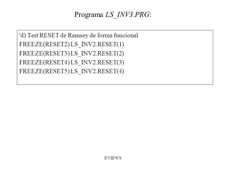 Programa LS_INV3.PRG: d) Test RESET de Ramsey de forma funcional