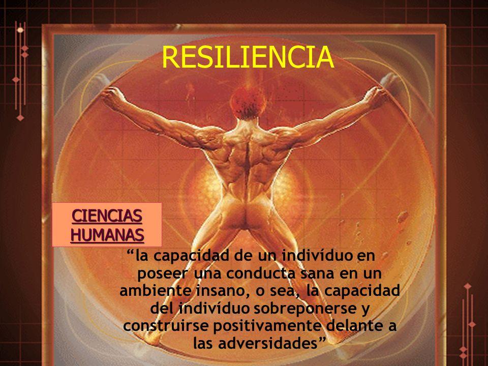 RESILIENCIA CIENCIAS HUMANAS