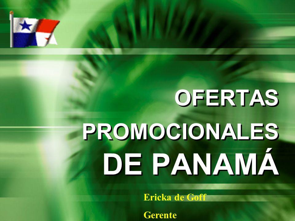 OFERTAS PROMOCIONALES DE PANAMÁ