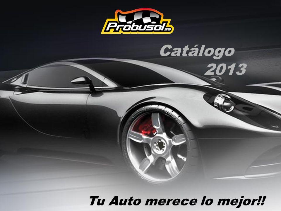 Catálogo 2013 Tu Auto merece lo mejor!!