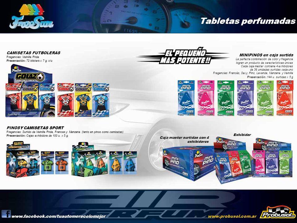 Tabletas perfumadas www.facebook.com/tuautomerecelomejor