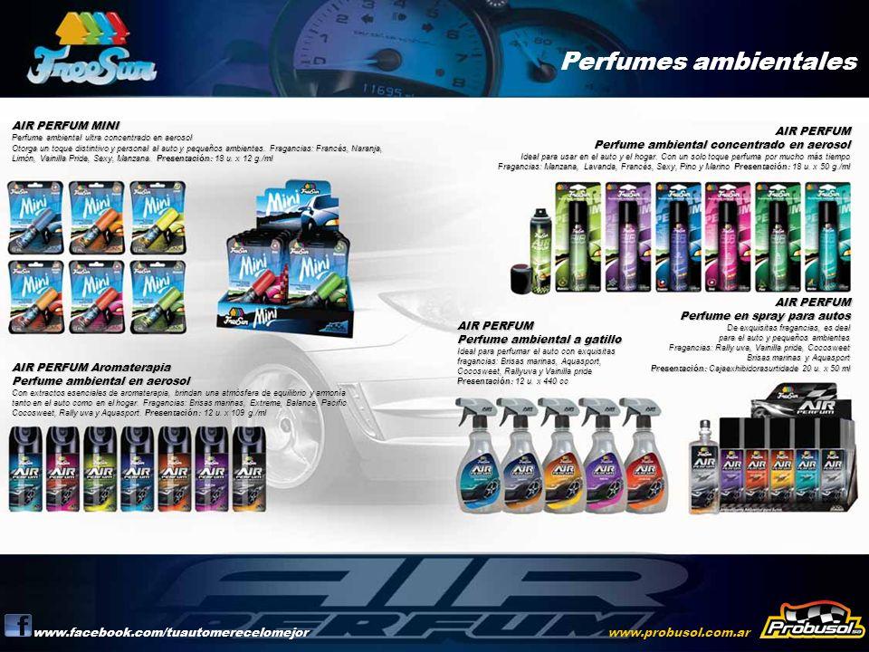 Perfumes ambientales www.facebook.com/tuautomerecelomejor