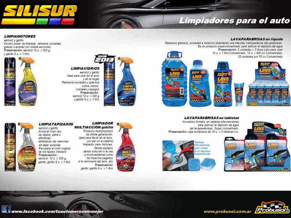 Limpiadores para el auto