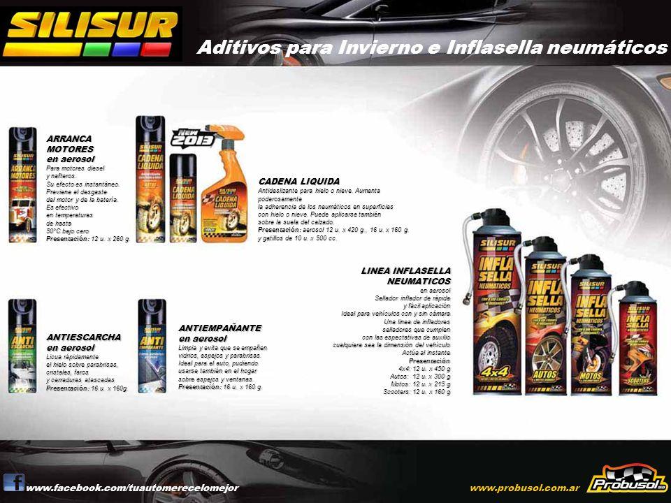 Aditivos para Invierno e Inflasella neumáticos