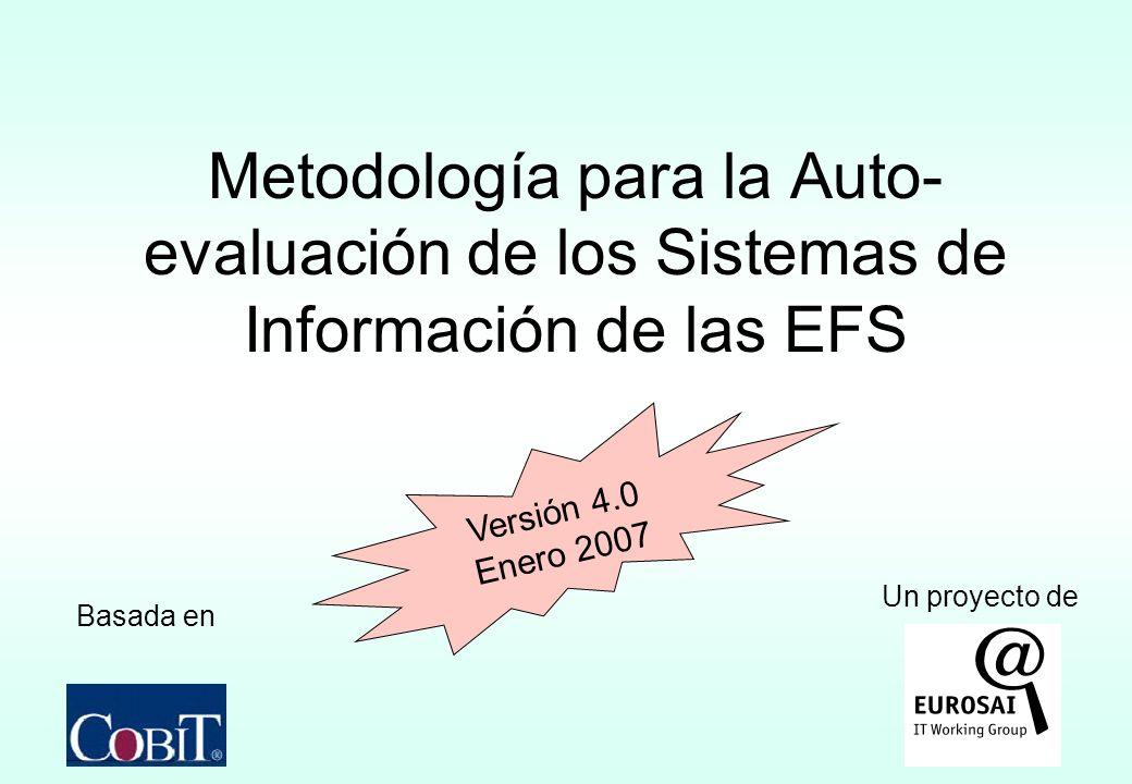 Metodología para la Auto-evaluación de los Sistemas de Información de las EFS