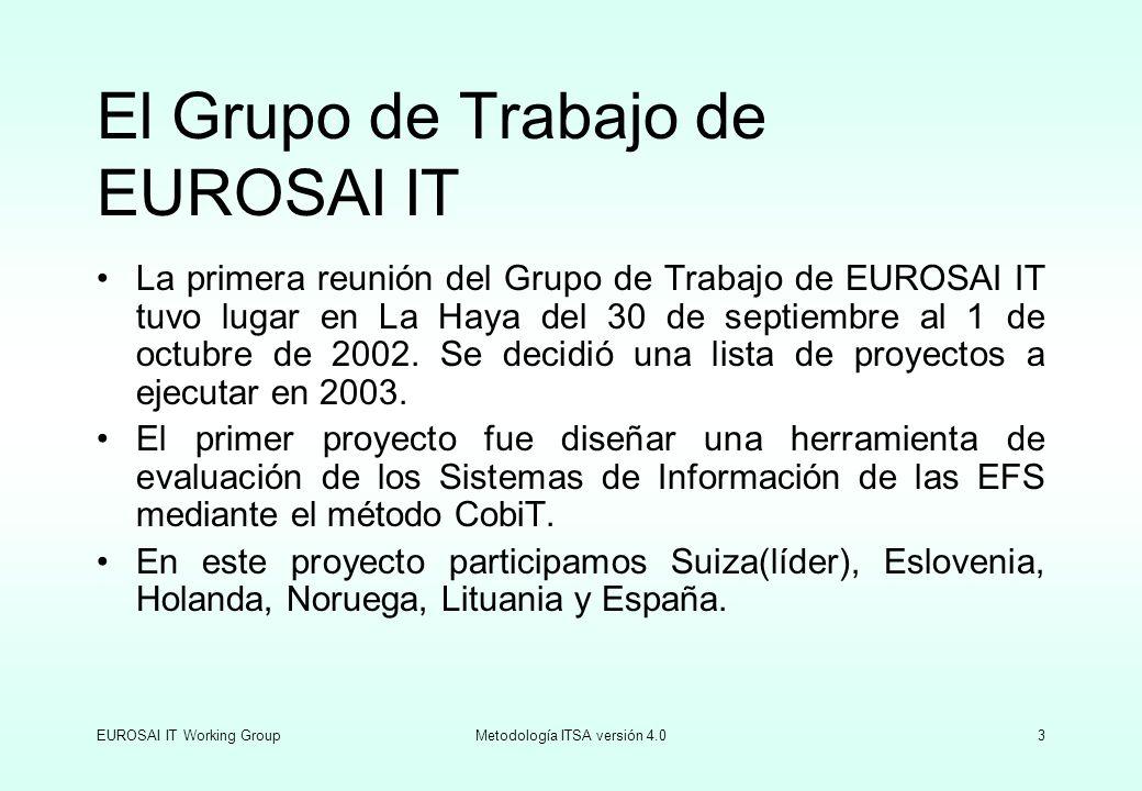 El Grupo de Trabajo de EUROSAI IT