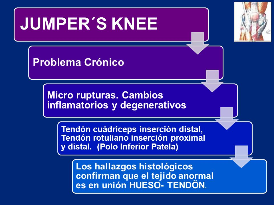 JUMPER´S KNEE Problema Crónico