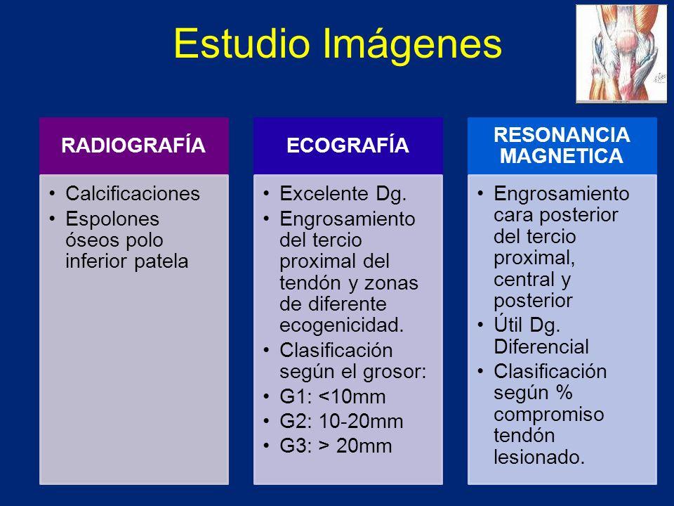 Estudio Imágenes RADIOGRAFÍA Calcificaciones