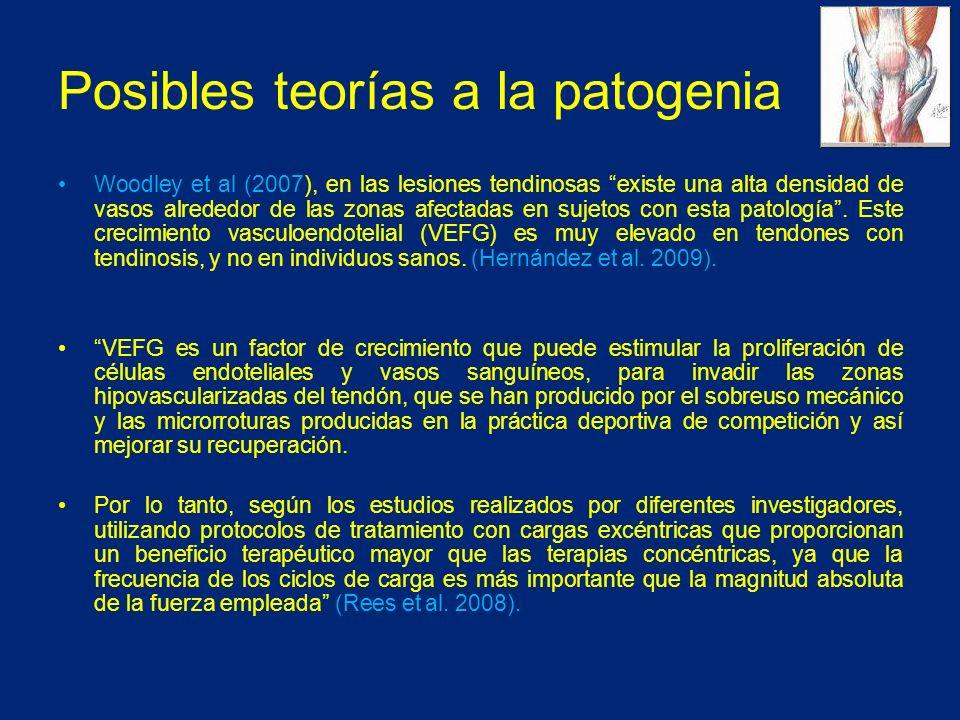 Posibles teorías a la patogenia