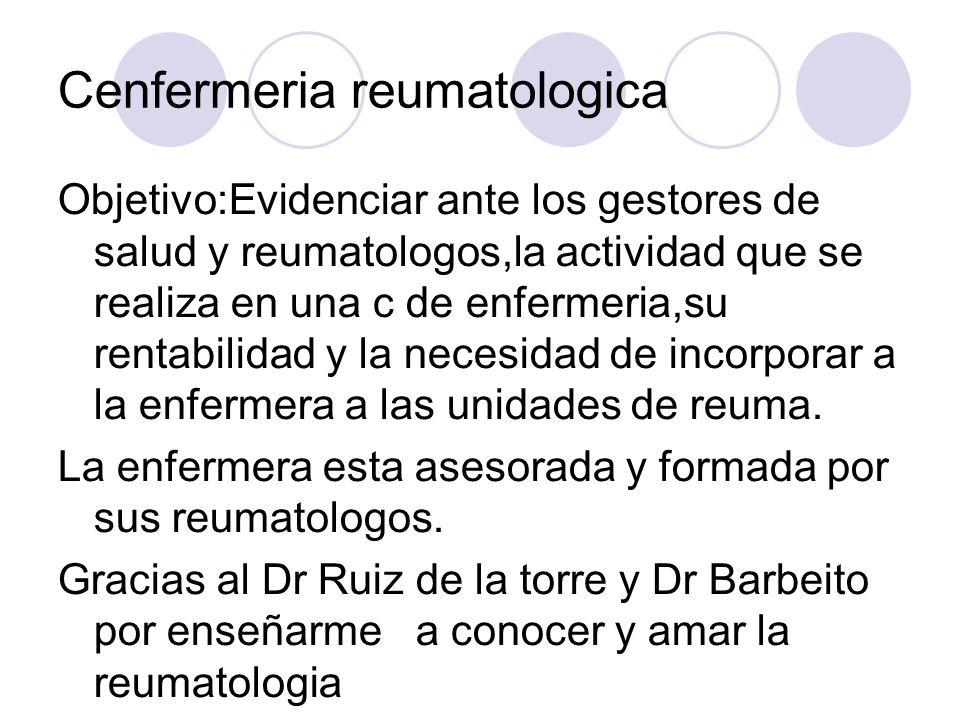 Cenfermeria reumatologica