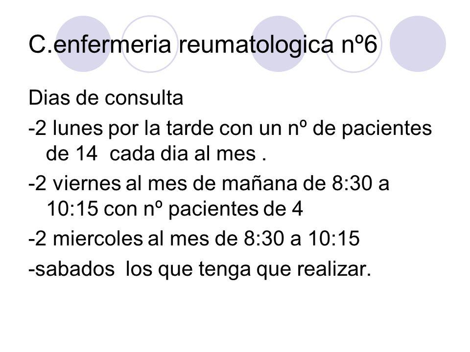 C.enfermeria reumatologica nº6
