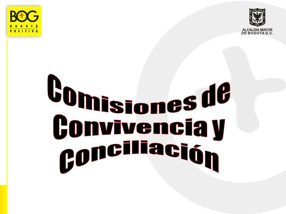 Comisiones de Convivencia y Conciliación