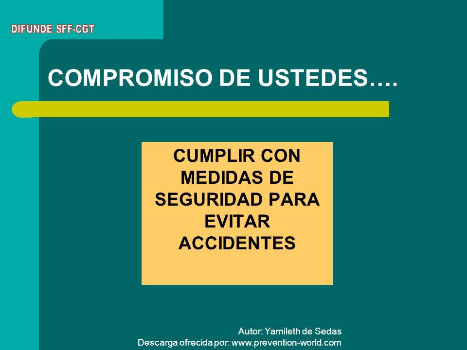 COMPROMISO DE USTEDES….