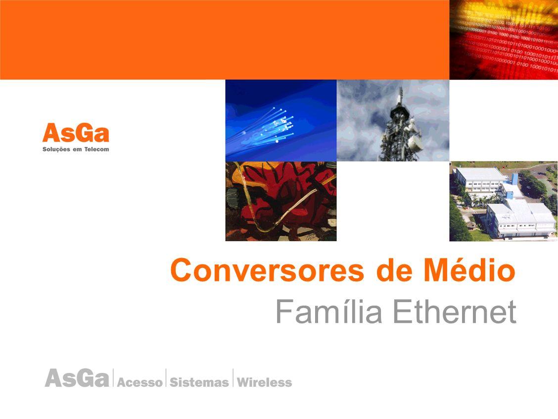 Conversores de Médio Família Ethernet
