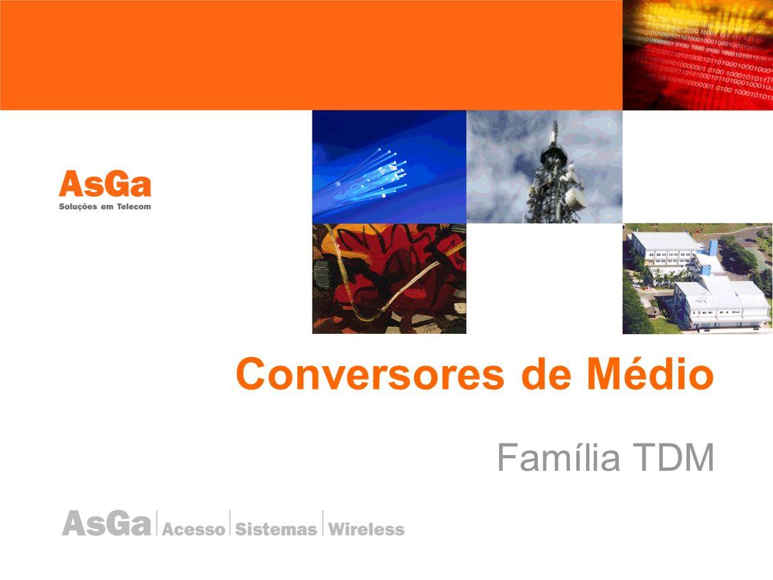 Conversores de Médio Família TDM