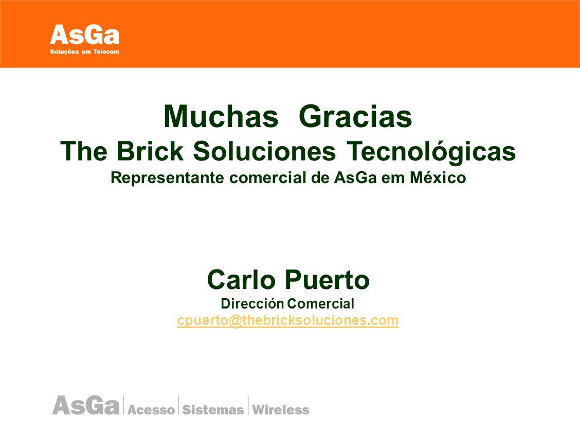 Muchas Gracias The Brick Soluciones Tecnológicas Carlo Puerto