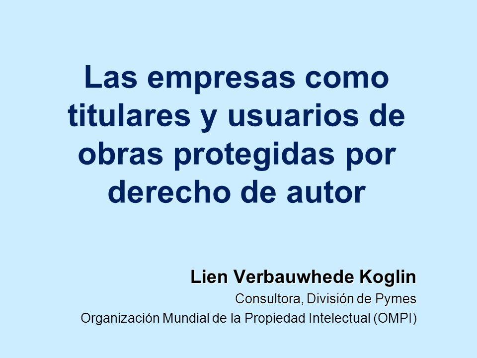 Las empresas como titulares y usuarios de obras protegidas por derecho de autor