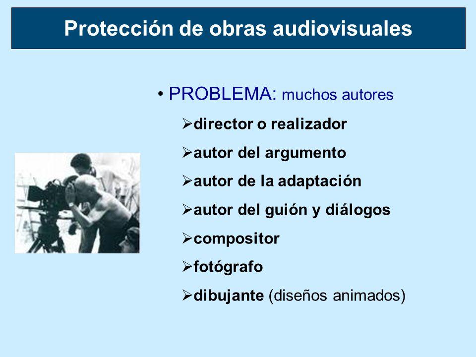 Protección de obras audiovisuales