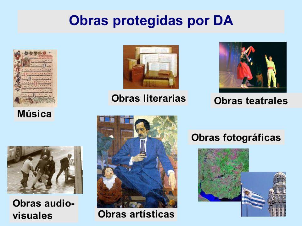 Obras protegidas por DA